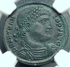 VETRANIO w Chi-Rho Standards Genuine 350AD Rare Ancient Roman Coin NGC MS i65990