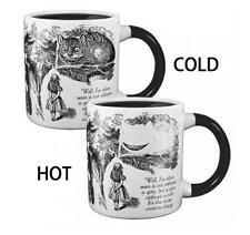 Alice in Wonderland Disappearing Cheshire Cat Heat Changing Mug