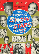 1957 Biggest Show of Stars concert program Chuck Berry Fats Domino The Moonglows