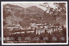 BERGAMO SAN PELLEGRINO TERME 50 Cartolina FOTOGRAFICA viaggiata 1934