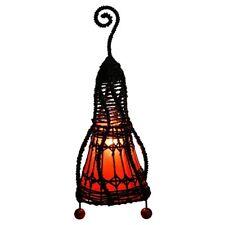 Bali Lampe 40 cm  , Narayana Lampe, Tischlampe, Asia Lampe, Stimmungs Lampe
