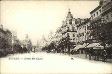 Anvers Antwerpen Belgique Belgique AK ~ 1900 Avenue de Keyser Kaiserstrasse rue