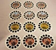 Viemaster Reels Lot of 12 Harry Potter Dinosaurs Siegfried and Roy Discovery Cha