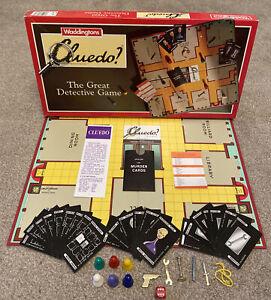 Vintage Cluedo 1990 Board Game - Waddingtons - Family Fun