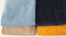 Öko-Tex Breitcord 100 % Baumwolle 4 Farben 50 x 140 cm