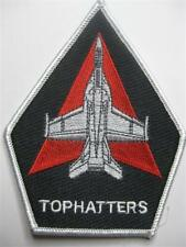 U.S. NAVY AUFNÄHER PATCH VFA-14 TOPHATTERS F/A 18 HORNET FIGHTER SQUADRON USN