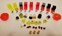 Lego Lot Transparent Crystal Alien Treasure Neon Box Storage Ruby Gold Cup Gems