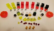 Lego Lot Transparent Crystal Alien Treasure Neon Box Storage Ruby Gold Cup Gems