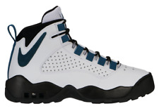 Nike Air Darwin AJ9710-100 BASKETBALL Shoe White/Teal-Black sz 8.5-13