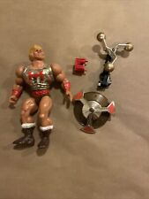 Vintage MOTU Masters of the Universe FLYING FISTS HE-MAN figure 100% Complete