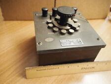 Vintage antique equipment resistor box physics laboratory Leeds Northrup USA