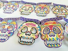 LOT of 5!!  DAY OF THE DEAD WINDOW DECORATIONS ! PARTYS RESTAURANTS MUST HAVE !