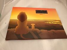 Disney's The Lion King Lithograph Set OF 4 EC