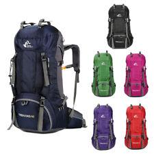 60 L Camping Viaje Mochila Mochila de senderismo trekking al aire libre Bolsa mochilas Unisex