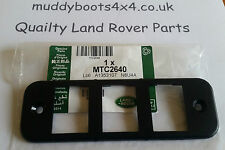 Genuine Land Rover Defender Dash Switch Panel Mounting Trim MTC2640