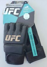 UFC Women's Training Gloves Sparring Open Palm Knuckle Padding Grappling Boxing