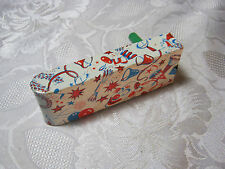 New Year Vintage Tin Noisemaker With Clown T*