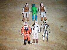 1977 - 1980 Lot of 6 Vintage Star War Action Figures