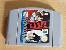 G.A.S.P - Nintendo 64/N64 games (Pal)