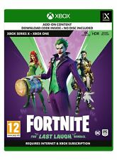 Fortnite The Last Laugh Bundle (Xbox One) New & Sealed Free UK P&P In Stock Now
