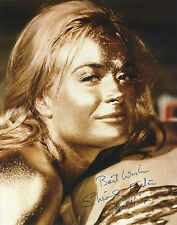 Shirley Eaton as Jill Masterson in Goldfinger - In Person Signed Photograph.