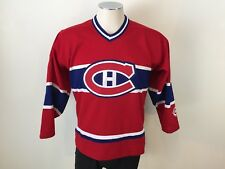 Vintage KOHO MONTREAL CANADIENS NHL Hockey Jersey - Youth XL MINT