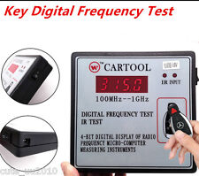 Universal Digital Frequency Test Car IR Infrared Remote Key Tester 100MHz--1GHz