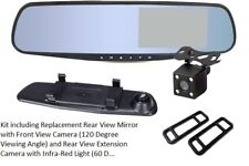 """Cámara Dvr Automóvil & Van Monitor Retrovisor Color 4.3"""" & Cámara De Estacionamiento Reversa"""