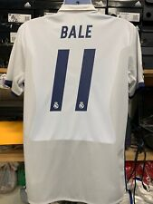 Adidas Real Madrid Home Jersey 16/17 #11 Gareth Bale Stadium Cut SizeLarge Only