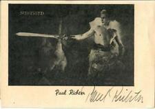 Paul Richter ( Die Nibelungen Siegfried ) signiert, Autogramm
