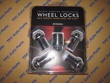 TOYOTA OEM GENUINE 0027600901 alloy Wheel Lock set W/UNIQUE KEY