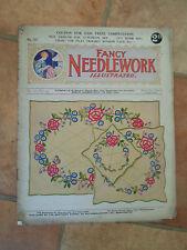 RARE Vintage Retro Fancy Needlework Illustrated No 101 Vol 9 + Illustrated