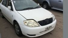 Wrecking a White Toyota Corolla ZZE122r for Parts Suit 2001 02 03 2004 Models
