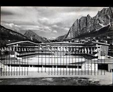 CORTINA (ITALIE) STADE OLYMPIQUE en 1962