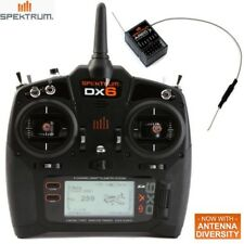 NEW Spektrum DX6 6-Channel DSMX® Transmitter Mode 2 w/ receiver AR610