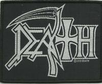 DEATH logo 2010 - WOVEN SEW ON PATCH official merchandise