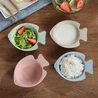 AM/_ QA/_ KIDS DINNER PLATE DIVIDED DISH TRAY DESSERT BABY FOOD FEEDING TABLEWARE
