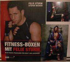 Felix Sturm Box Buch book Original signed signiert autograph Signatur Autogramm