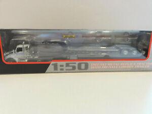 FIRST GEAR 50-3281 KENWORTH T880 w/ LOWBOY Big Komatsu Logo/Blue Stripe 1:50 NEW