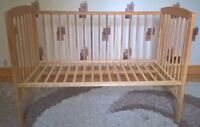 baby cot frame no mattress