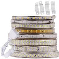 240leds/m 220V LED STRIP LIGHT 5050 2835 5630 5730 SMD Flexible tape light RGB