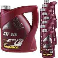 12 Liter MANNOL ATF WS Automatic Special Automatikgetriebeöl Oil 11224329