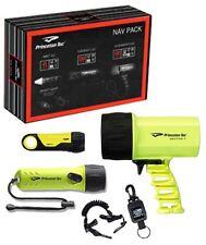 Princeton Tec LED Dive Light Nav Package Set Sector 7, Torrent, AMP 1LC Black