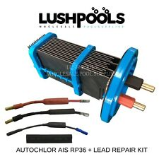 Auto Chlor Self Cleaning RP36.13  RP36 35AMP Chlorinator Cell + LEAD REPAIR KIT