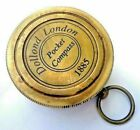 Brass Sundial Compass Dollond London Vintage Nautical Antique Compass Solid