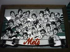 VERY RARE 1977 24x16 NEW YORK METS TEAM MIRROR - (Tom Seaver, Jerry Koosman)