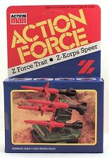1983 Action Force Z FORCE DART / GI Joe MISSILE LAUNCHER (PAC/RAT) sealed in box