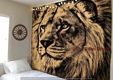 Lion Indian Ethnic Dorm Throw Wall Hanging Hippie Mandala Tapestry Bohemian