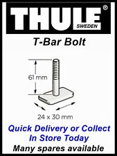 THULE 591 PRORIDE CYCLE CARRIER SINGLE REPLACEMENT 61MM T-BAR BOLT T-TRACK PIN