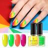 BORN PRETTY 6ml Nail Polish Fluorescence Summer Series Colorful Nail Varnish
